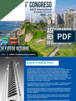 Congreso de Costos Aace 2018 Aacei Peru_ficha_y_programa