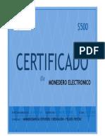 CERTIFICADO 500