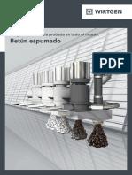 W Brochure Foamed-Bitumen 0116 ES