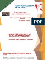 Granuloma Periférico de Células Gigantes (GPCG)
