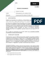 034-18 - Consorcio Los Andes - Gastos Generales