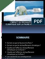 Limpact Du Rechauffement Climatique Sur La Faune Et La Flore Presentation