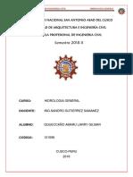 1ra Tarea de Aplicacion de La Hidrologia Ing.civil 2018