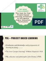 Conference Paper_2018_ We Need Challenges Four PBL Iniciatives in Higher Education in Portugal
