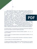 Declaratoria Prescripcion Adquisitiva y Declaratoria Posesion Regular de Inmueble Ante Notario Ley 1183 de 2008