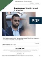 Passeports Diplomatiques de Benalla - Le Quai d'Orsay Va Saisir La Justice