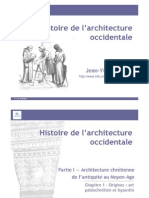Histoire de l'Architecture Occidentale