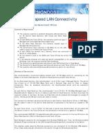 DD-12.26.03-High Speed LAN Connectivity