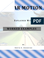 Linear Motion Explained With Worked Examples_SSZakariyah