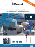 Level Instruments for Tank Overfill Prevention 41-188.1