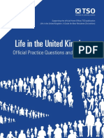 223356426 Life in the United Kingdom Official Practice Questions and Answe