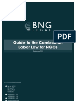 Labor Law Guide for NGOs in Cambodia