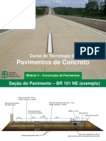 Curso de Tecnologia de Pavimento de Concreto - Módulo 4