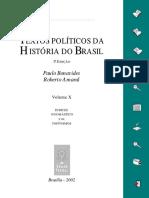 Textos políticos do Brasil Volume 10