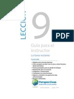 09_GUIA PARA EL INSTRUCTOR — LECCIÓN 09_Versión preliminar