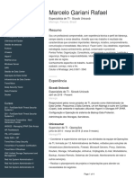 Curriculum Marcelo Gariani Rafael 2018