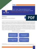 WeBER_Politički sažetak_Proaktivna Transparentnost Bos