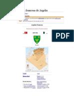 Colonización Francesa de Argelia