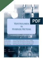 Web2.0 en Vertrouwen in Hybride Ketens