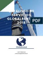 Catálogo Servicios Globalrental SpA
