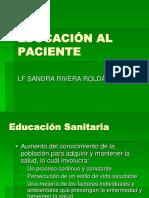 """Educaciã""""n Al Paciente"""