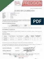 Certificado Calibracion Estacion Total
