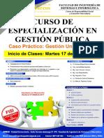 Especializacion Gestion Publica