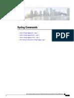 Cisco Syslog Commands