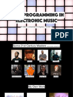 Drum Programming Lecture