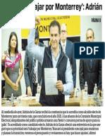 28-12-18 'Hora de trabajar por Monterrey'