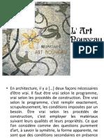 s2 Cours 2 Art Nouveau