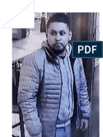 Suspect in a shooting that occurred on December 1 in the parking lot of the Sole D' Italia Restaurant in Layhill.