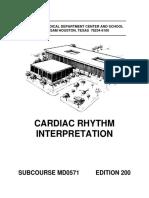 interpretarea ritmului cardiac