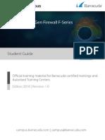 Barracuda NextGen Firewall F WAN Track-Student Guide Rev1