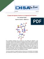 IndisaOnLine135-ElpapeldelingenieroQuímicoenlaingenieríadeproyectos