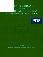Journal of the Bihar and Orissa Research Society XXI