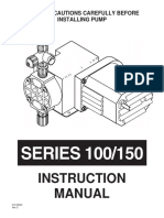 Chem Tech pump SERIES 100/150
