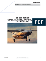 CE-208 Series Stall Training Client Guide