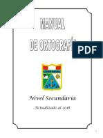Manual de Ortografía 2018