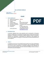 Silabo Tesis III Doctorado