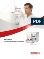 BC 5800 Hematology Analyzer