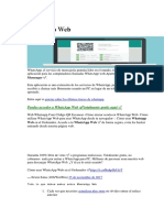 manual de uso del Whatsapp Web