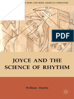 Joyce and the Science of Rhythm - Palgrave Macmillan US (2012)