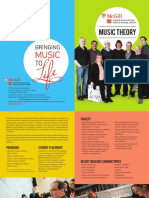 MusicTheory at McGill 2018