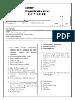 Examen de Pfrh 2do de Secundaria (1)