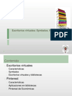 Escritorios Virtuales, Symbaloo, Pinterest