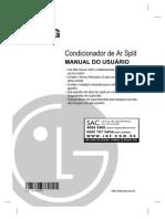 Condicionador de Ar Split MANUAL DO USUÁRIO  MFL40631502_VERS� 2011