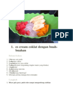 resep buah