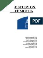 CASE STUDY ON CAFÉ MOCHA