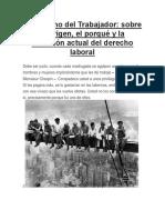 El Derecho Del Trabajador UANCV